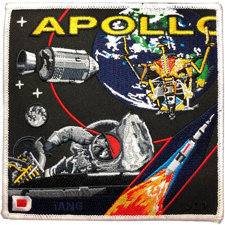 Apollo 9 Commemorative Spirit - Space Patches