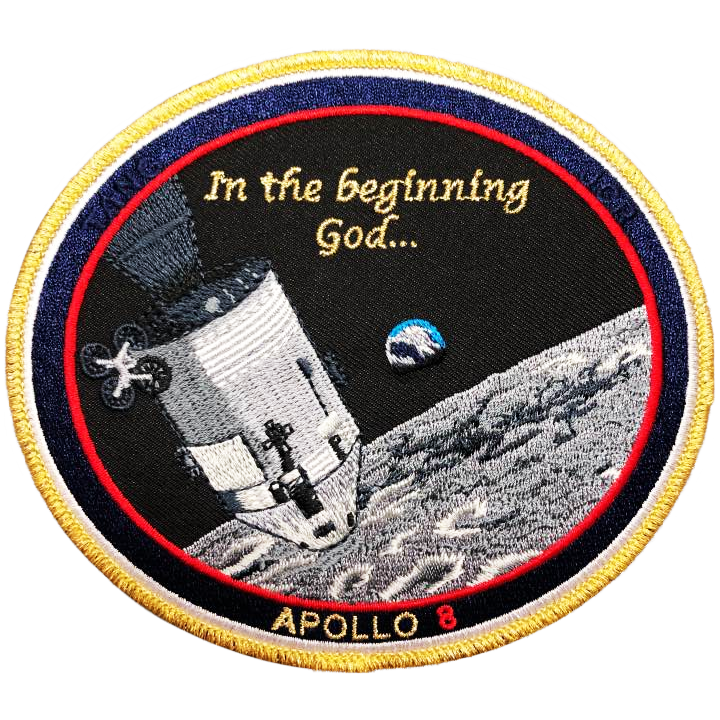 Apollo 8 Commemorative Spirit - Space Patches