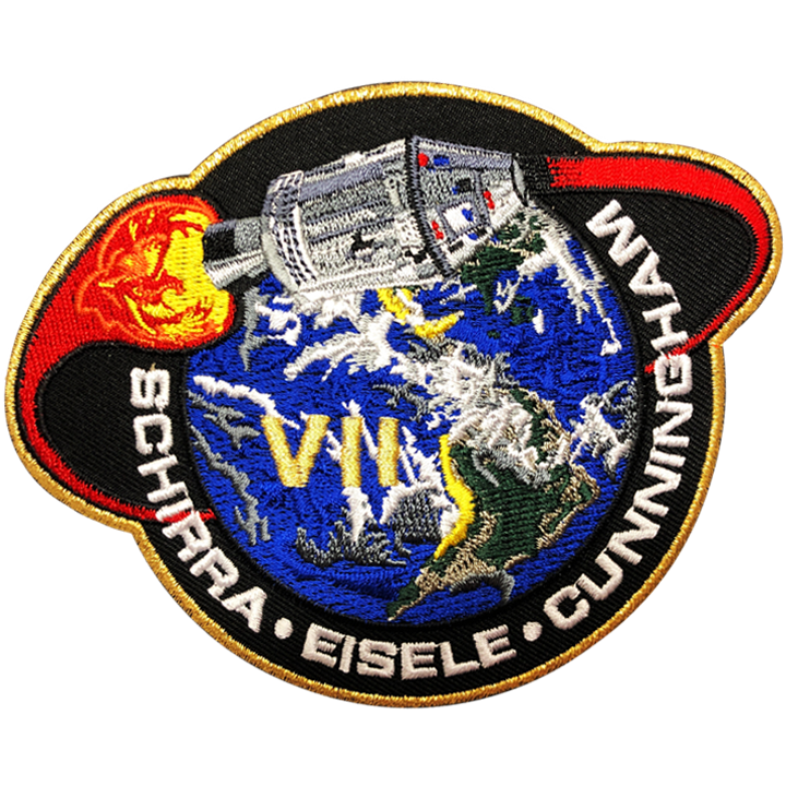 Apollo 7 Commemorative Mission - Space Patches