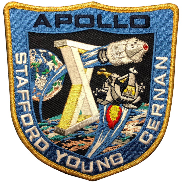 Apollo 10 Commemorative Mission Patch - Space Patches