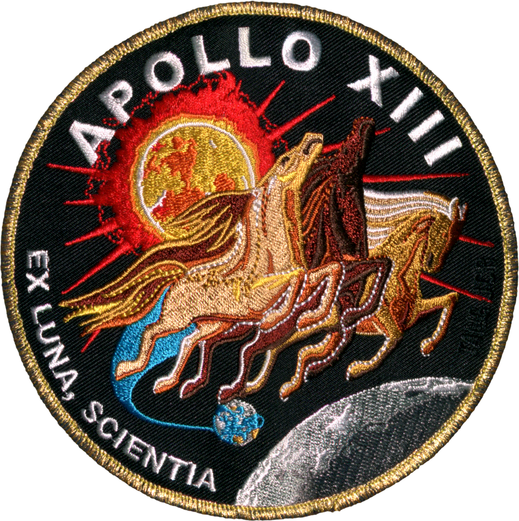 Apollo 13 Commemorative Mission - Space Patches