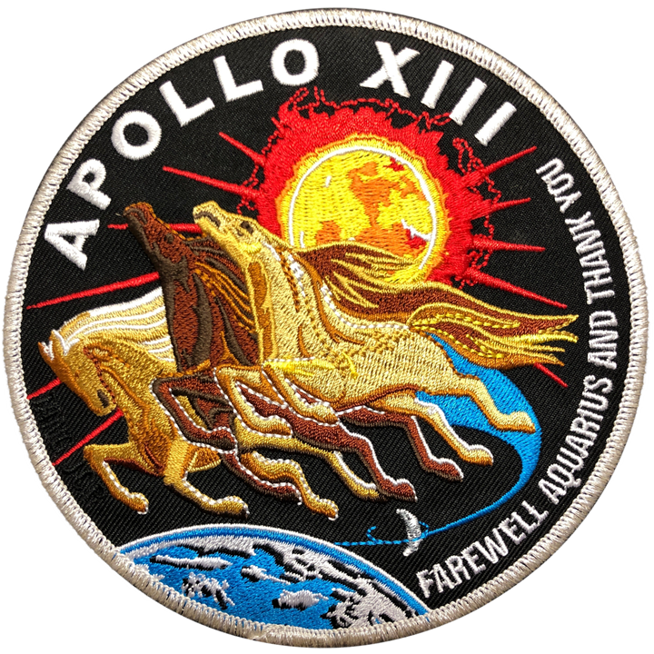 Apollo 13 Commemorative Spirit Patch - Space Patches