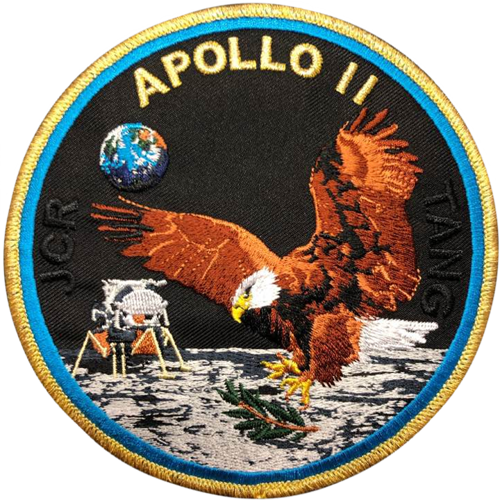Apollo 11 Commemorative Mission - Space Patches