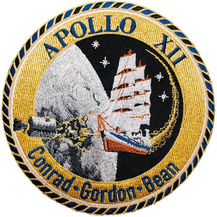 Apollo 12 Commemorative Mission Patch - Space Patches