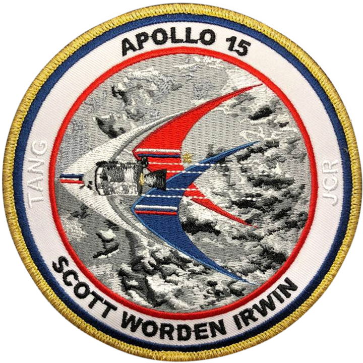 Apollo 15 Commemorative Mission Patch - Space Patches
