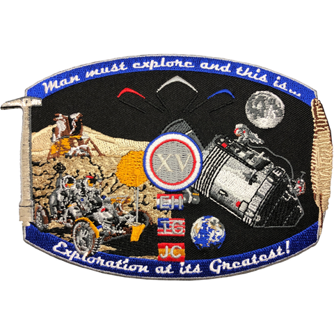 Apollo 15 Commemorative Spirit