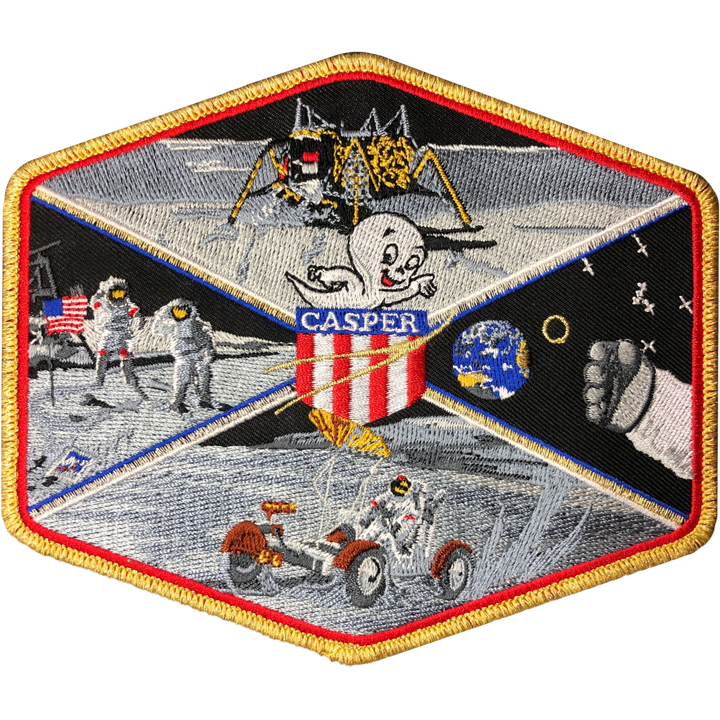 Apollo 16 Commemorative Spirit Patch - Space Patches