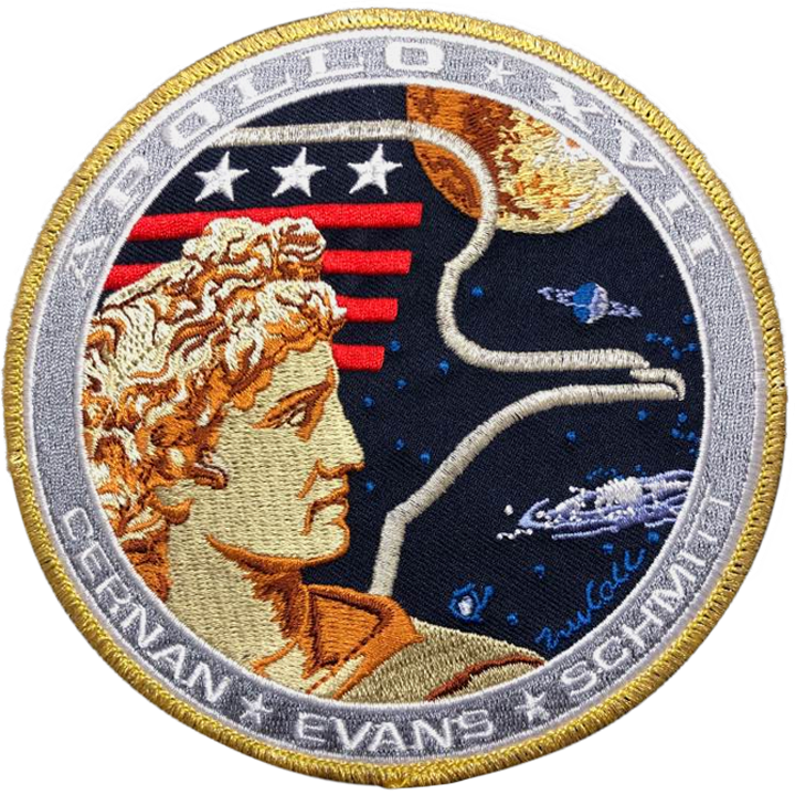 Apollo 17 Commemorative Mission - Space Patches