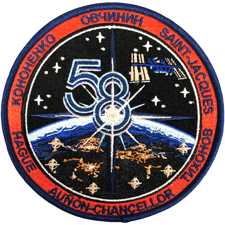 Expedition 58 Original Crew (Sample Error) - Space Patches