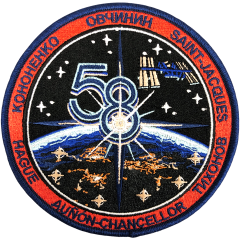 Expedition 58 Original Crew (Sample Error)