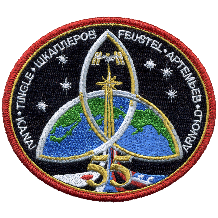 Expedition 55 - Space Patches