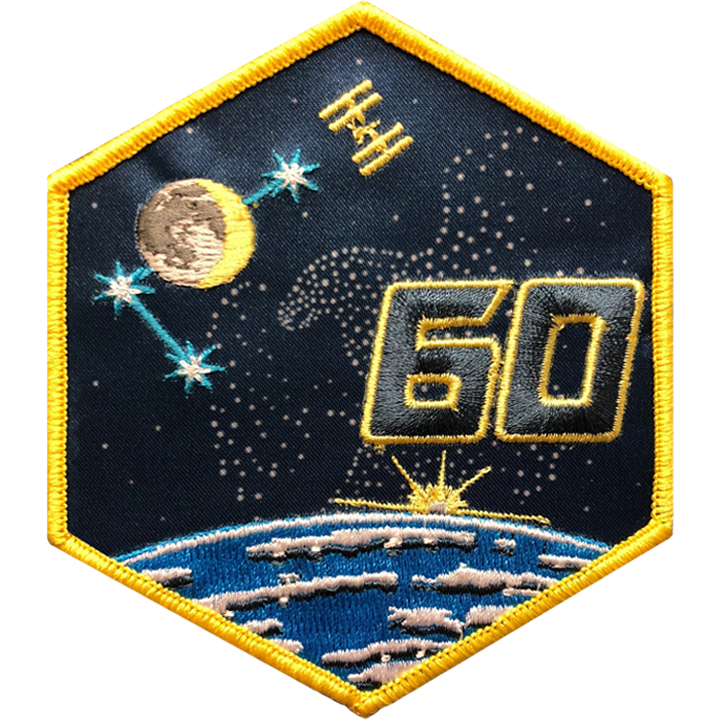Expedition 60 - Space Patches