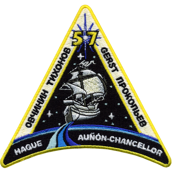 Expedition 57 Crew Change 2 - Space Patches