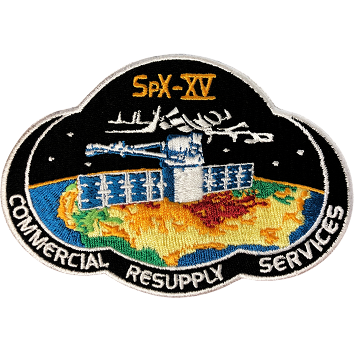 CRS SpaceX 15 - Space Patches