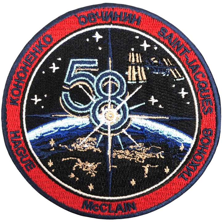Expedition 58 Crew Change 1 - Space Patches