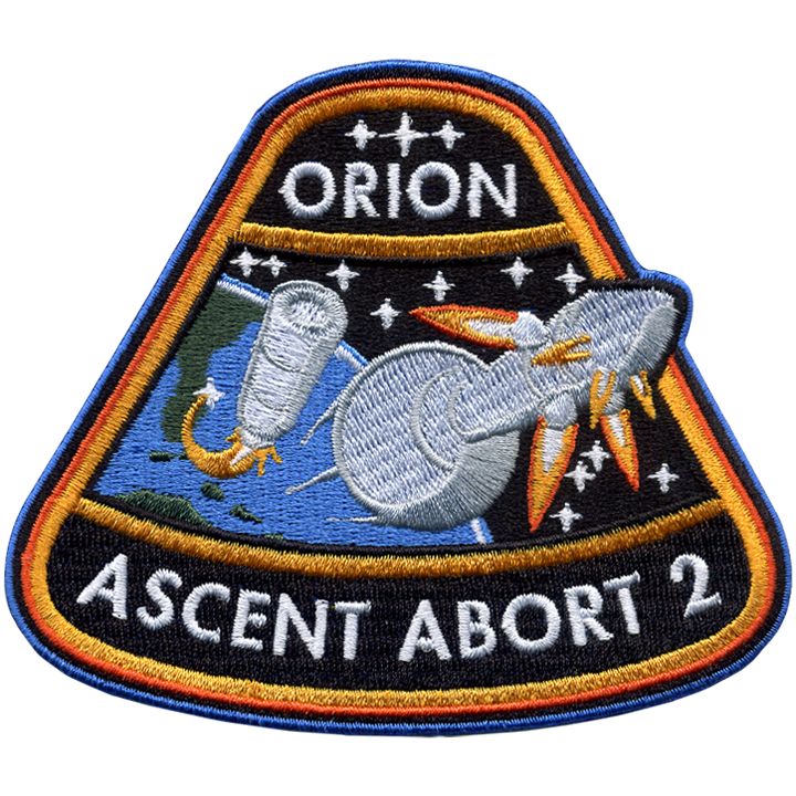 Orion AA-2 - Space Patches