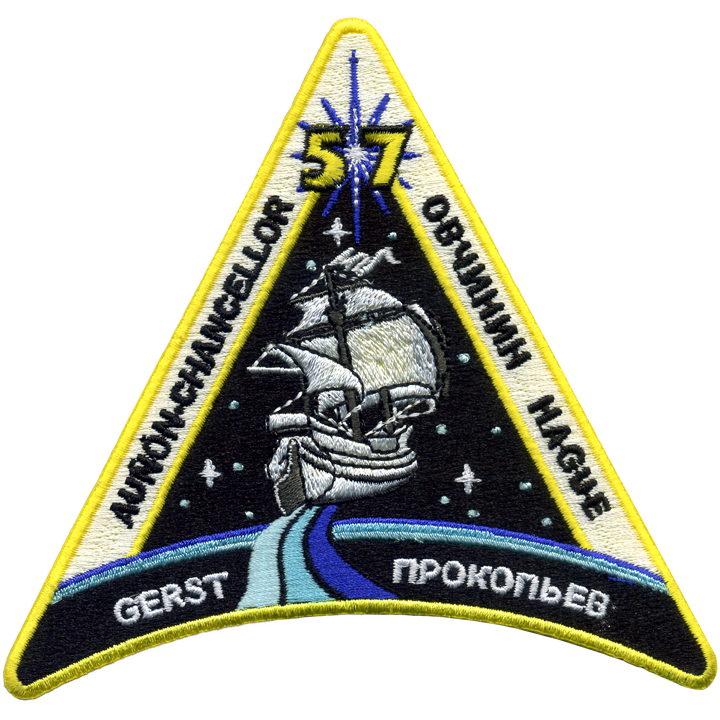 Expedition 57 Crew Change 3 - Space Patches
