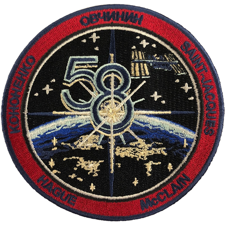 Expedition 58 Crew Change 2 - Space Patches