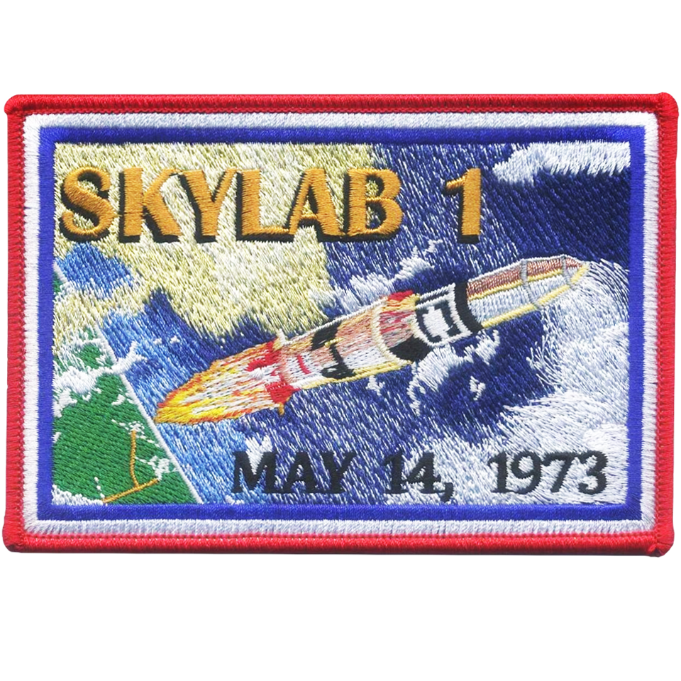 Skylab 1 Commemorative - Space Patches