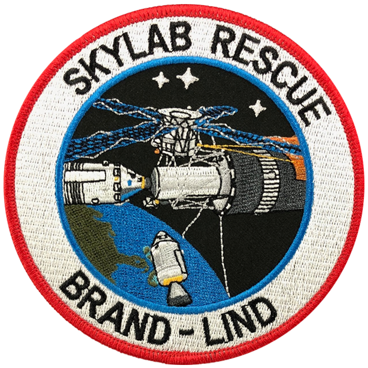 Skylab Rescue - Space Patches