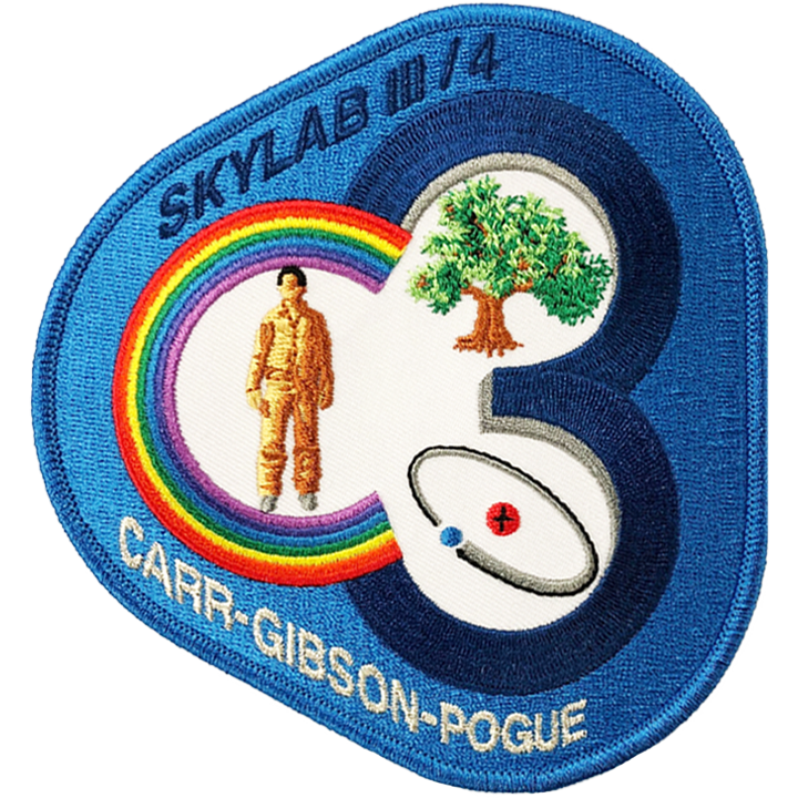 Skylab III/4 Anniversary Crew - Space Patches