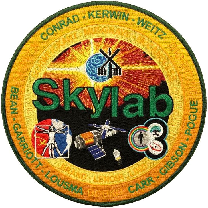 Skylab Program Commemorative - Space Patches