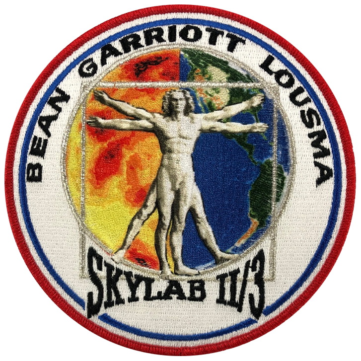 Skylab II/3 Anniversary Crew - Space Patches