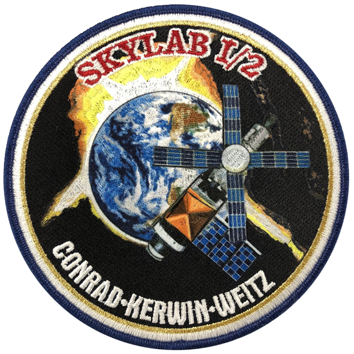 Skylab I/2 Anniversary Crew - Space Patches