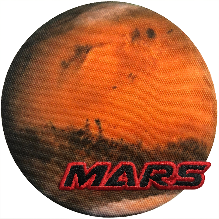 Mars - Space Patches