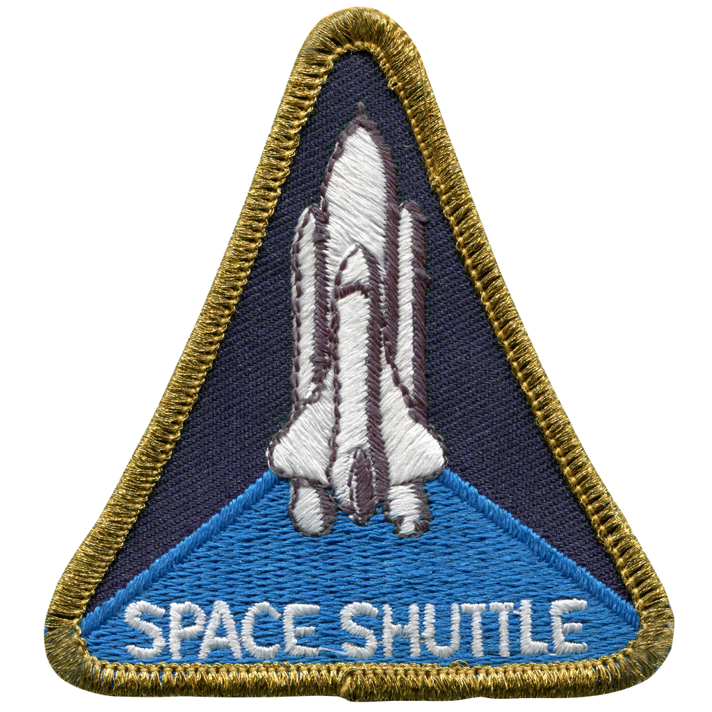 Shuttle Program Souvenir Version - Space Patches