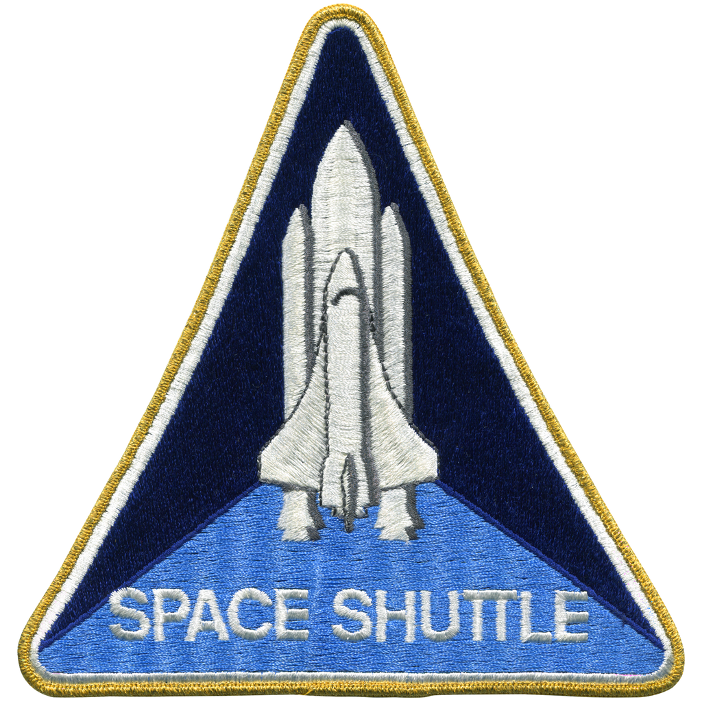 Shuttle Program Back-Patch - Space Patches