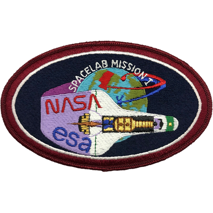 Spacelab Mission 1 ESA - Space Patches