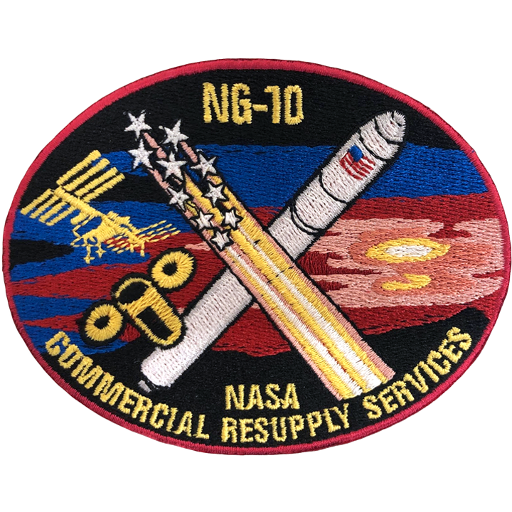 CRS NG-10 - Space Patches