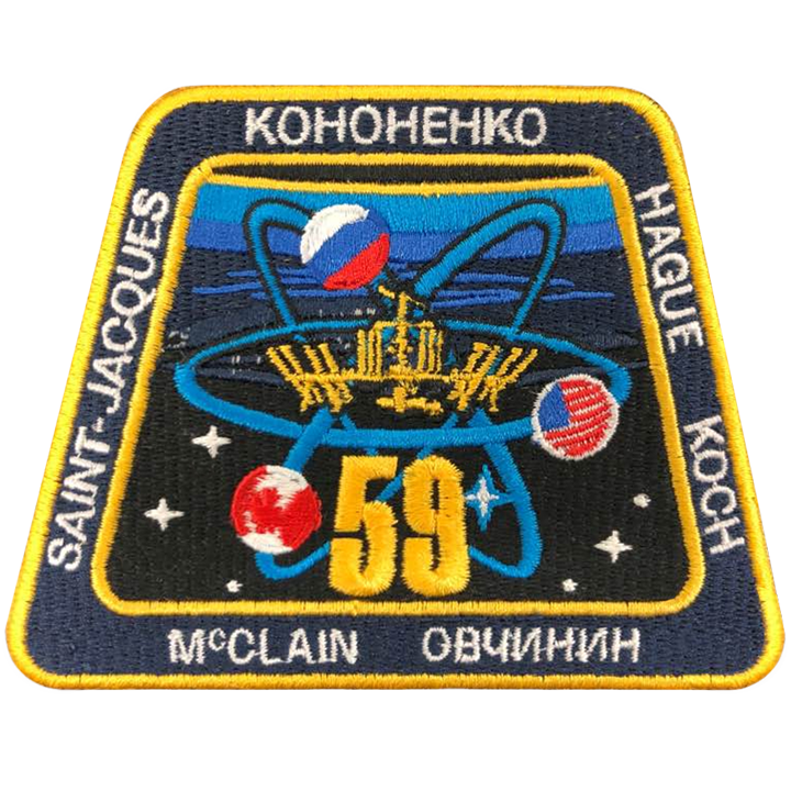 Expedition 59 - Space Patches