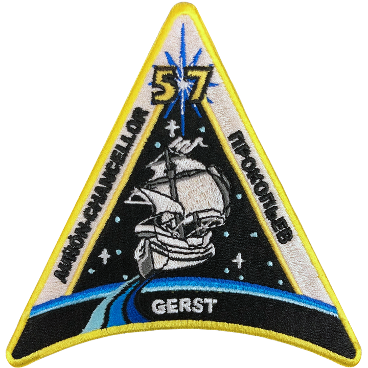 Expedition 57 - Space Patches