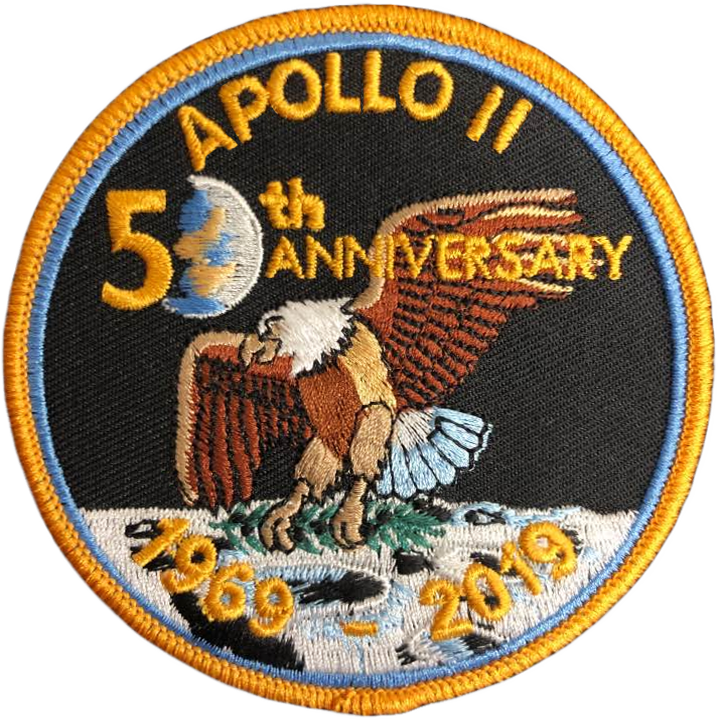 Apollo 11 50th Anniversary v2 - Space Patches