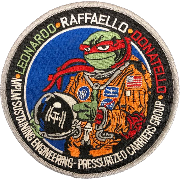 MPLM Sustaining Engineering - Space Patches