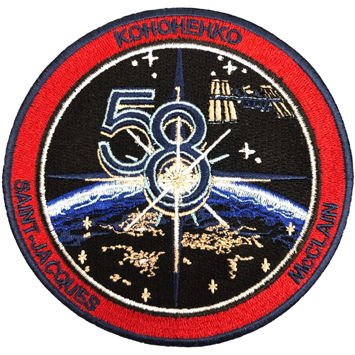 Expedition 58 - Space Patches