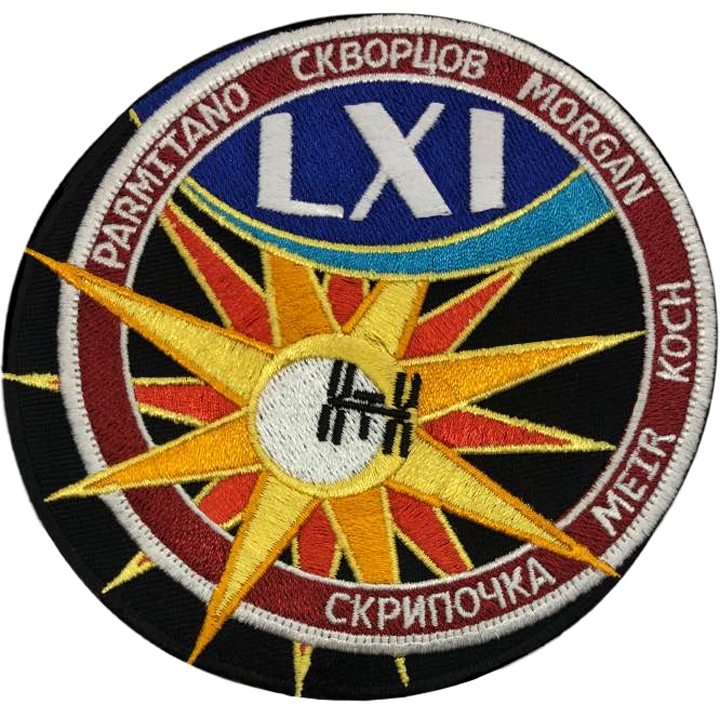 Expedition 61 - Space Patches
