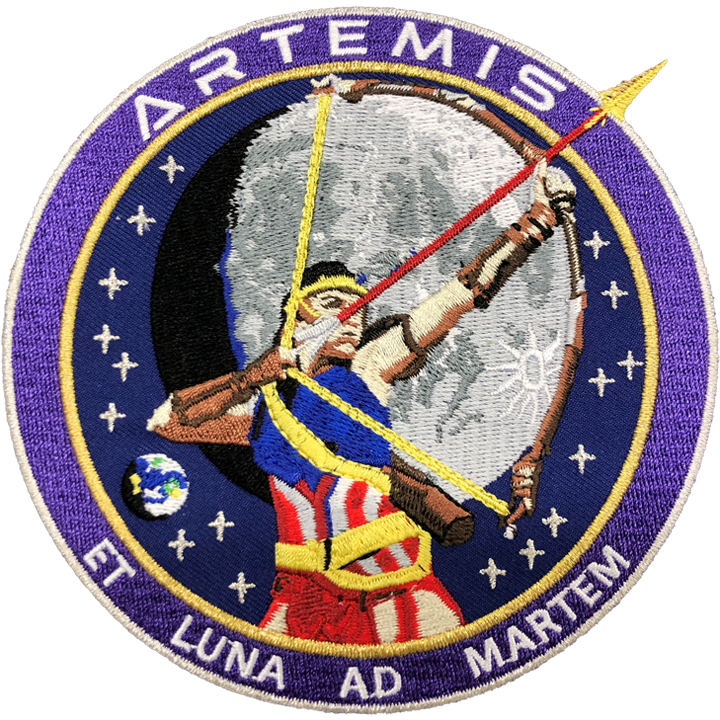 Artemis Commemorative - Space Patches