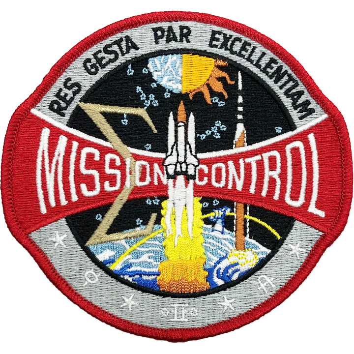 Mission Control 1983 - Space Patches