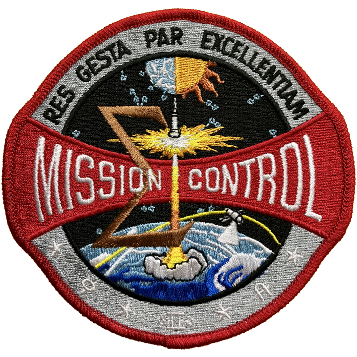 Mission Control 1973 - Space Patches