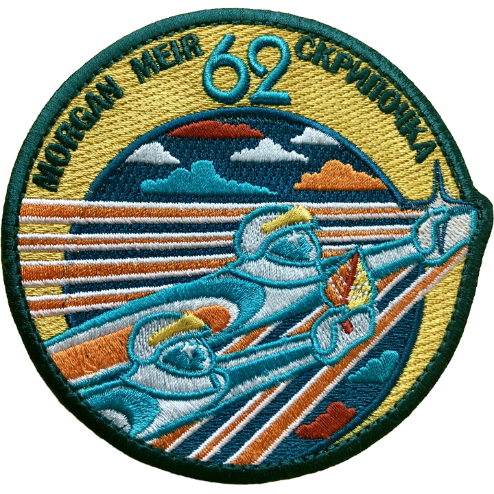 Expedition 62 - Space Patches