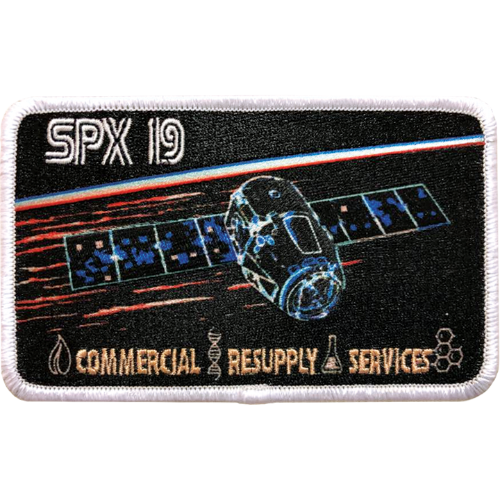 CRS SpaceX 19 - Space Patches