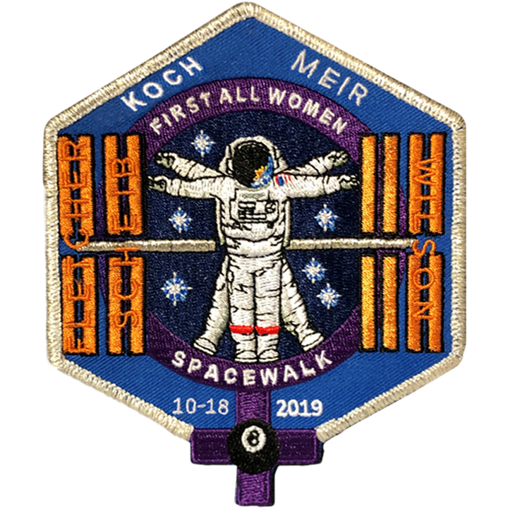 """NEW ORIGINAL ISS INTERNATIONAL SPACE  STATION-TIM GAGNON-COMMEMORATIVE 5/""""-PATCH"""