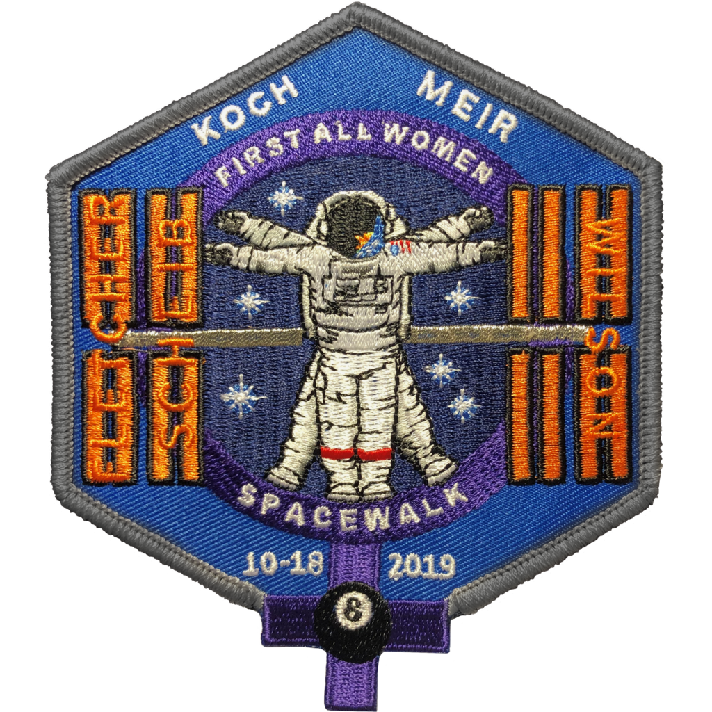 First All Women Space Walk Mfg Error - Space Patches