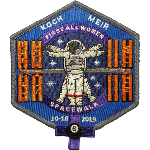 First All Women Space Walk Mfg Error