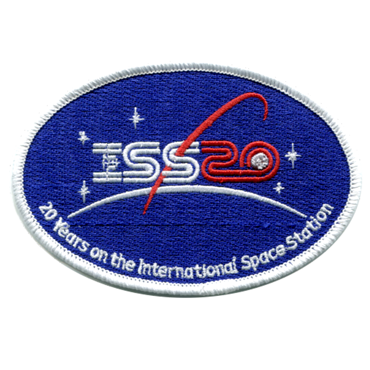 ISS 20 years - Space Patches