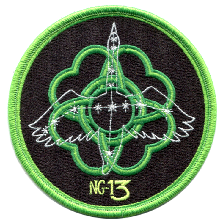 CRS NG-13 - Space Patches