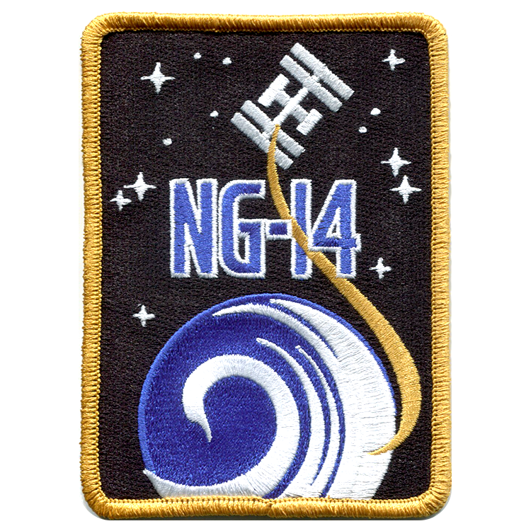 CRS NG-14 - Space Patches